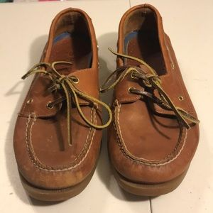 Mens Sperry topside really boat shoes size 10